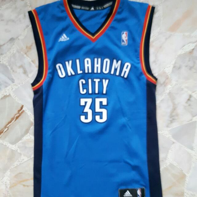 online store 935e8 c2d42 OKC KD Jersey Size XS, Sports on Carousell