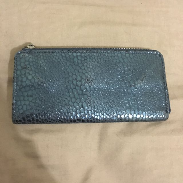 Real Leather Unique Shaped Wallet