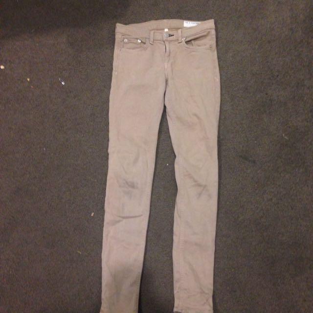 Tan Rag & Bone Jeans Size 25