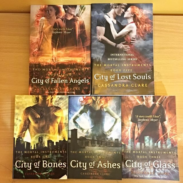 The Mortal Instruments Series Book 1-5