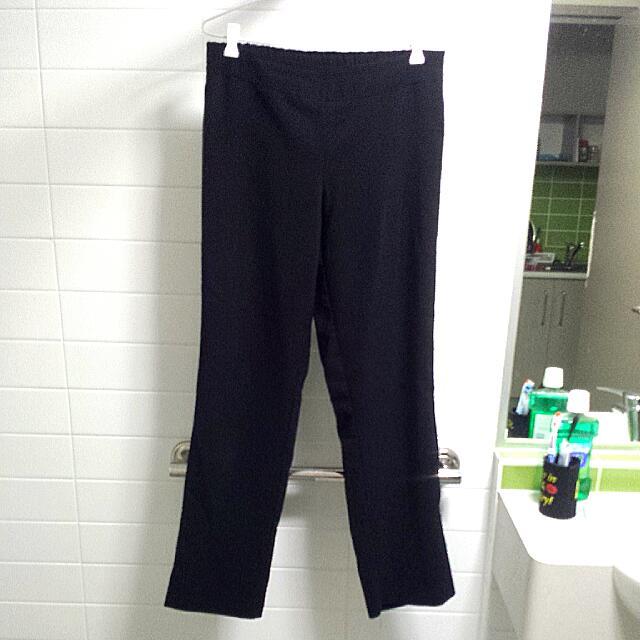 Uniform Black Pants