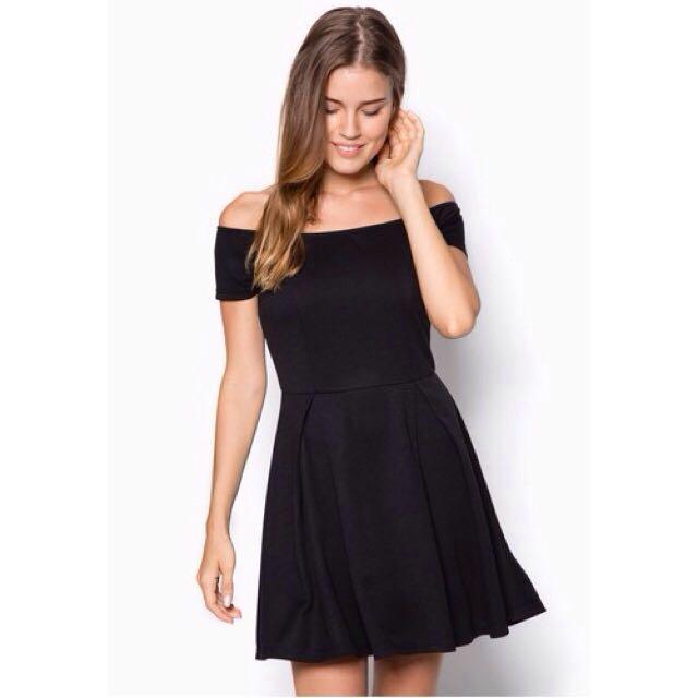 Zalora Basic Off Shoulder Midi Dress / Sabrina Dress