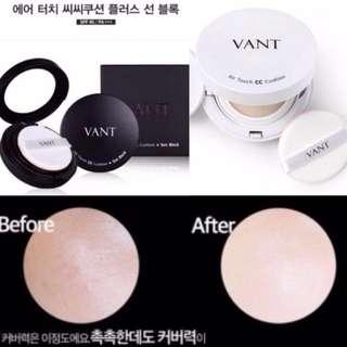 韓國代購限時連線中✨正品保障 ▫#VANT36.5水光透亮CC氣墊粉餅
