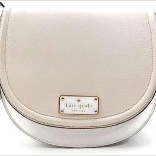 Ready Stock !! AUTHENTIC KATE SPADE New York Crossbody Bag Oliver Street Lilly #WKRU3782 - Cream/Pebble/GRACE BLUE (AQUA) Chanel Mademoiselle Kate Spade Wallet Coach Bag Chanel Bag Gucci Bag Gucci Bag MacBook