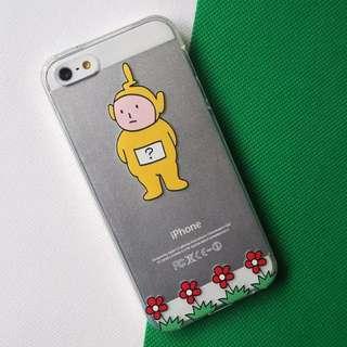 童趣可愛天線寶寶搞怪手機殼 透明軟殼 iphone6 6s 5 5s Plus