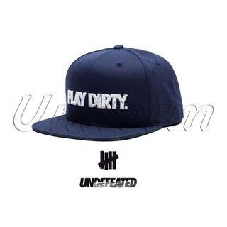 UNDEFEATED 2016SS PLAY DIRTY SP16 CAP 棒球帽
