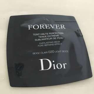 Brand New Dior Forever Everlasting Wear Pore Refining Effect Fluid Foundation Sample For Sale!