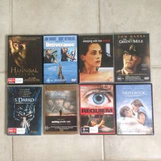 $1 Drama/Action DVDs!