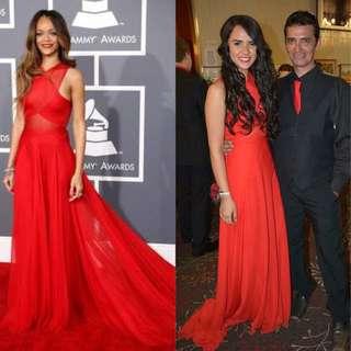Rihanna Inspired Dress