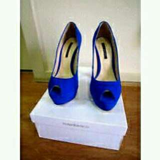Tony Bianco Electric Blue Heels