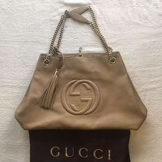 Authentic Gucci Soho Tote 2013, Large Size