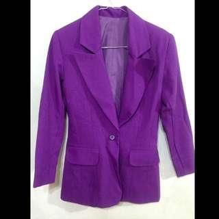 Purple Blezer