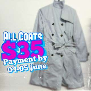 All Coats Sale! *end