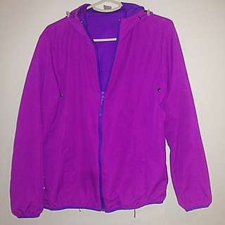 Bright Purple/pink Outdoor Jacket- Worn Once