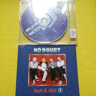 英文單曲 NO DOUBT/Just A Girl