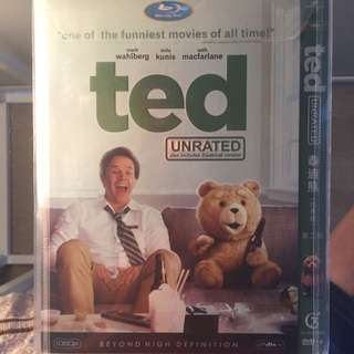 Ted Comedy Movie Blu Ray Disc