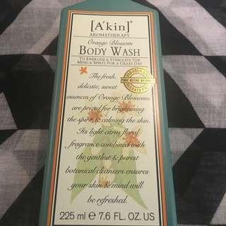 Akin Body Wash (Orange Blossom) 225ml