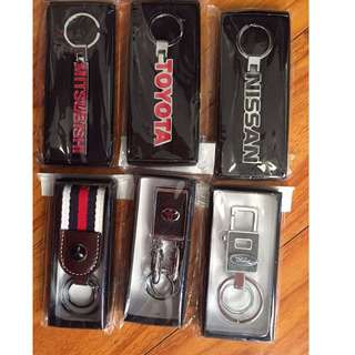 Brand new Toyota, Nissan,Mitsubishi, Ford Car key ring for sale.