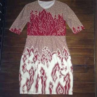 Batik Dress Megamendung