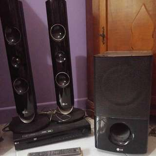 LG 2.1 Home Theatre Speakers