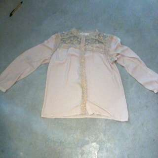 Blouse Light Brown In S