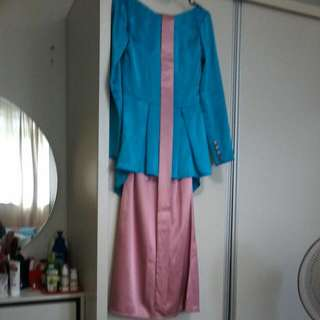 SY Boutique Peplum Kurung For Hari Raya