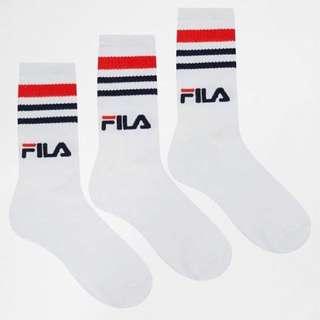 代購 正品 FILA 中筒襪 滑板襪