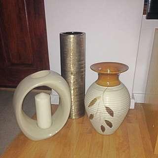 3 Decorative Items