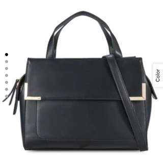 Zalora Black Handbag