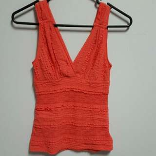 Coral Style Top Size S