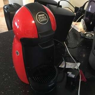 Dolce Gusto Beverage Dispenser (Red Colour)