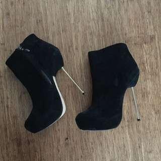 Black Swede Stiletto High Heels
