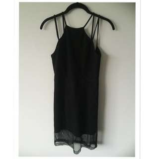 Size 6 Mesh Party Dress