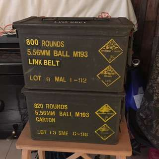 Empty Ammunition Box
