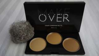 Preloved Make Over Creamy Foundation Palette