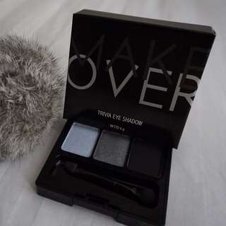 Preloved Make Over Eye Trivia Eye Shadow - Black Goddiva