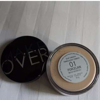 Preloved Make Over Silky Smooth Translucent Powder (01 - Porcelain)