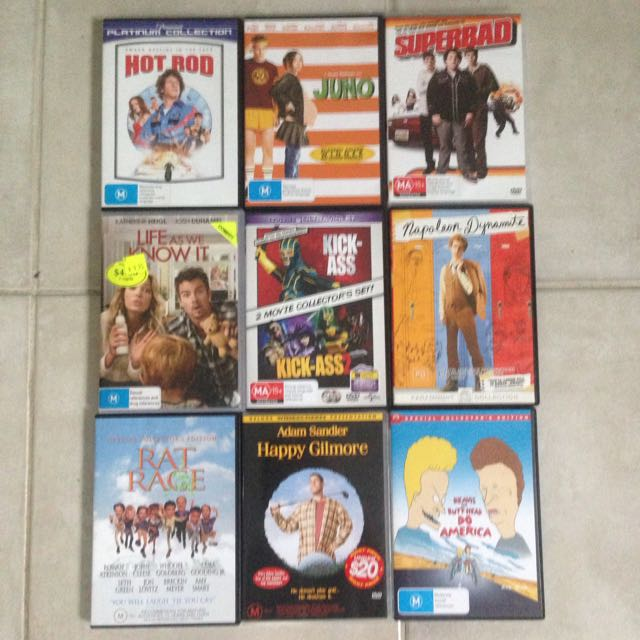 $1 Comedy DVDs!
