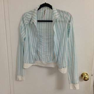 Striped Jacket from Hyphen