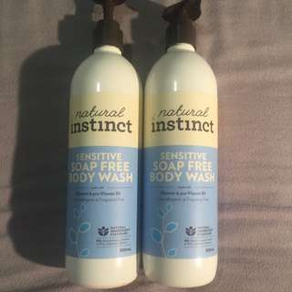 Sensitive Soap Free Body Wash