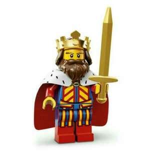 Lego Mini Figure 71008 Series 13 KING WTT ONLY