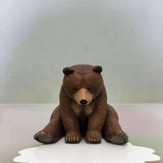 扭蛋 休眠動物園 熊