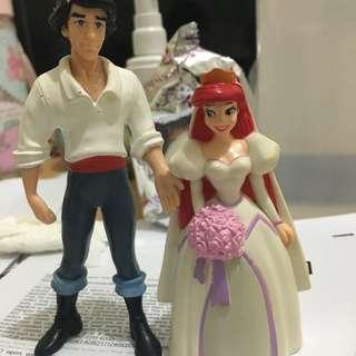 迪士尼 美人魚+王子