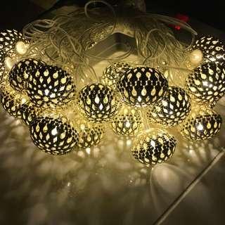 Golden Lights 6 Meters