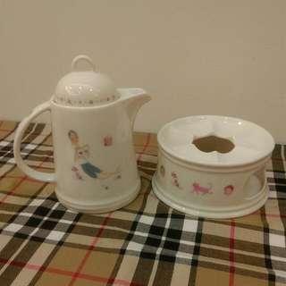 茶壺組+ 溫熱盤