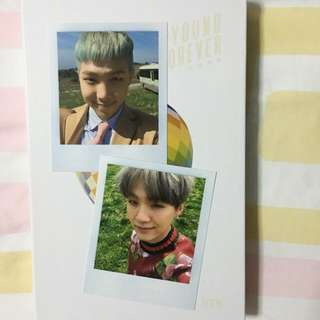WTS BTS YOUNG FOREVER POLAROIDS