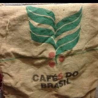 咖啡麻布袋