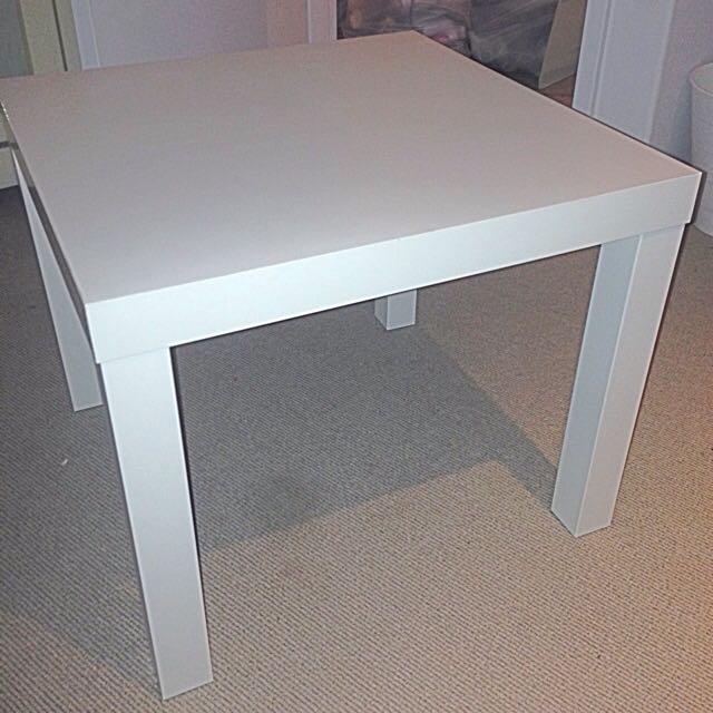 1 X White IKEA Tables