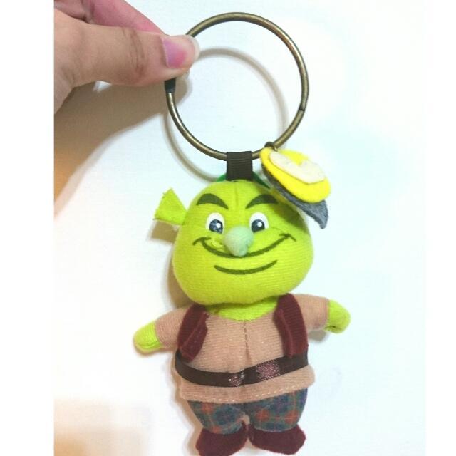 🎉純手工史瑞克娃娃鑰匙圈🎉全新🎉送禮生日禮物情人節禮物