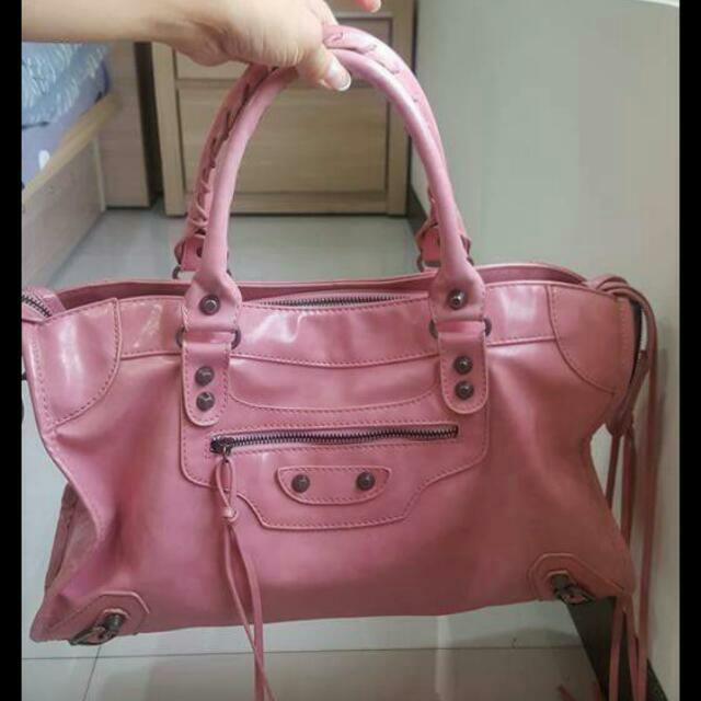 粉色機車包